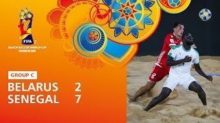 Belarus v Senegal [Highlights] - FIFA Beach Soccer World Cup Paraguay 2019™