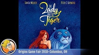 The Lady and the Tiger — game preview at Origins 2018