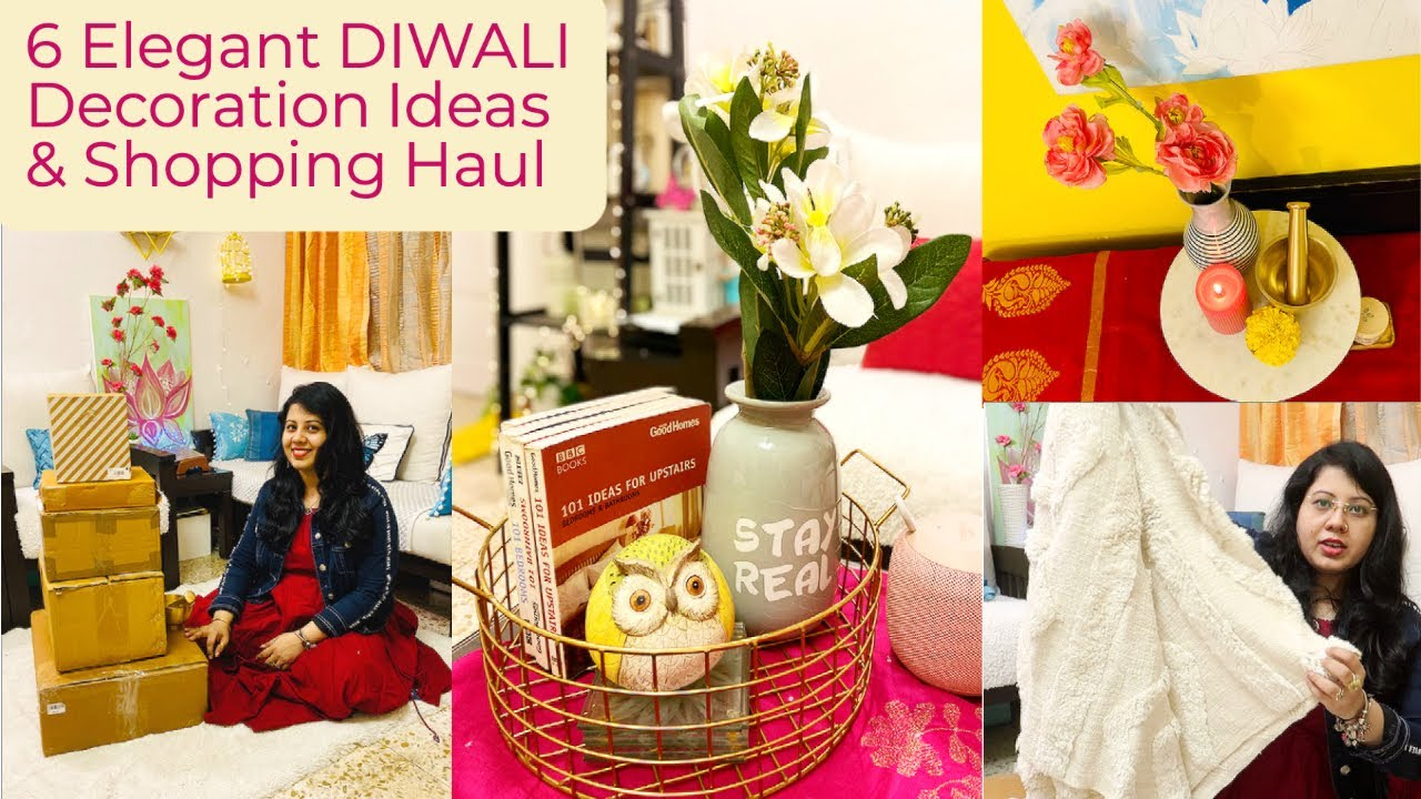 Diwali 2020 Ke Liye Mera Amazon Shopping Haul 6 Elegant Home Decorating Ideas For Festival Youtube