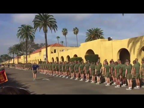 USMC Boot Camp Graduation, MCRD San Diego CA