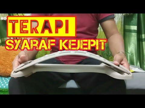 TERAPI SYARAF KEJEPIT PUNGGUNG PAKAI LUVINA BACK STRETCHER // UNBOXING
