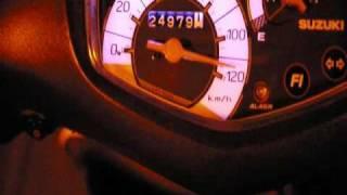 アドレスV125 最高速アタック 加速 addressv125 thumbnail
