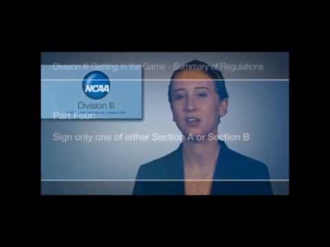 NCAA Compliance SA Statement Signing
