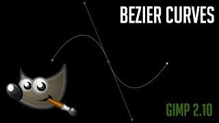 Oluşturma Bezier Eğrisi Kalemi Yolları | GİMP 2.10 Öğretici