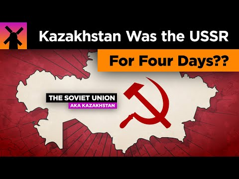 That Time When Kazakhstan Was the Entire USSR For 4 Days