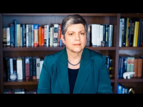 UC President Janet Napolitano: Global Challenges for California