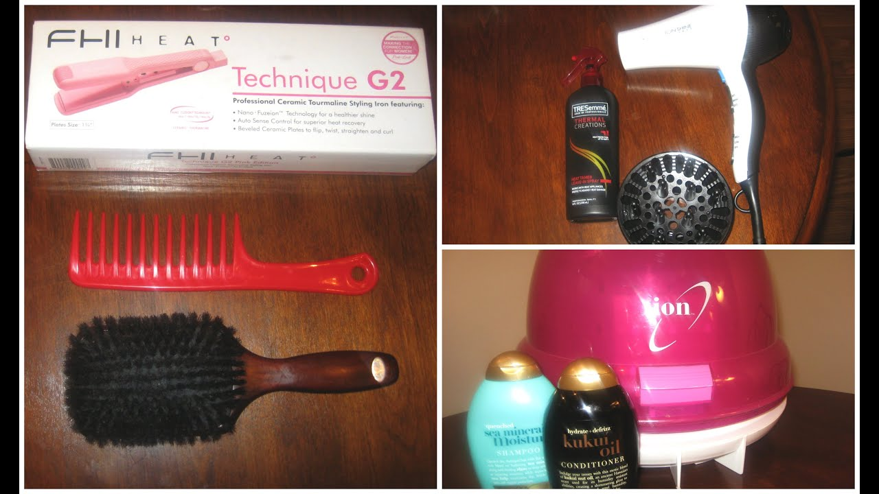 Natural Hair Styling Tools: HAIR TOOLS AND PRODUCTS TO FLAT IRON 4C NATURAL HAIR