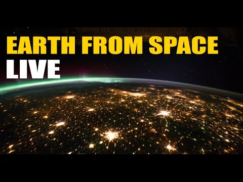 ISS Stream | Earth From Space - RECORDED Live NASA HDEV ...
