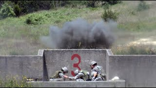 M67 Hand Grenade and M18 Claymore Mine! U.S. Air Force Officers Training!