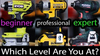 We Ranked Every Impact Driver Brand From Beginner LVL To Expert LVL (What Level Are You?)