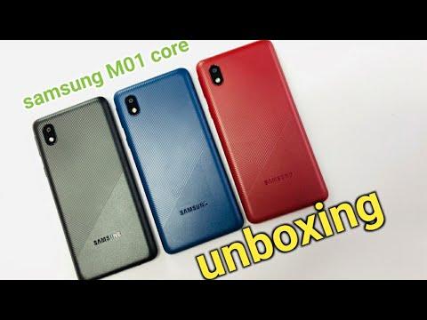 Samsung Galaxy M01 Core Unboxing All colour|Black Colour, Blue Colour, Red Colour, first impressions