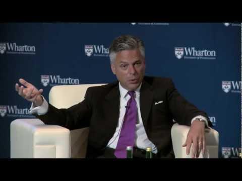Jon M. Huntsman, Jr.: Wharton Global Alumni Forum, Jakarta 2012