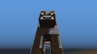 Mad Cows in Minecraft