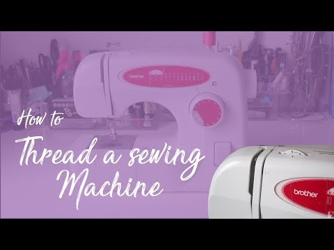 How To Thread Sewing Machine And Bobbin