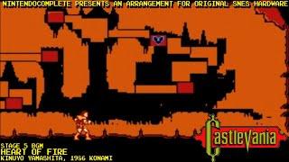♫HEART OF FIRE (Castlevania) SNES Arrangement - NintendoComplete