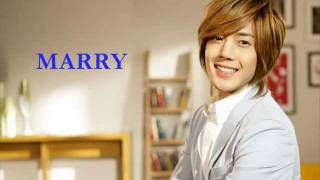 김현중_Marry me Kim Hyun Joong (Romanized Lyrics/ Eng Subs)