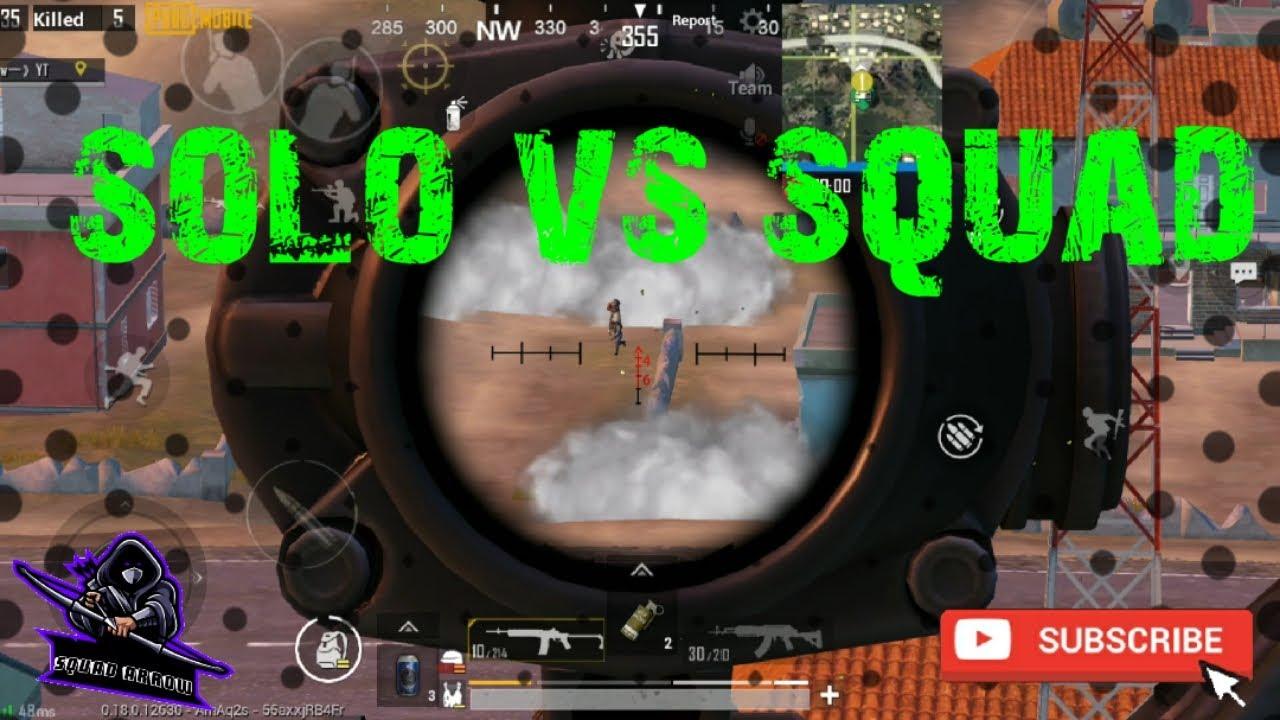 Bangam momemt solo vs squad gameplay|Pubg mobile|Arrow Esports