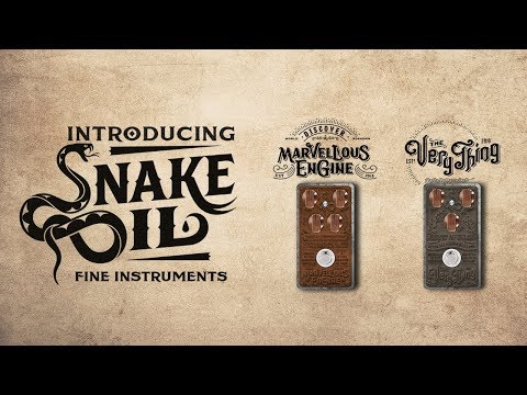 Introducing... Snake Oil Fine Instruments & New Products!