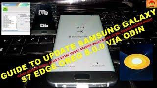 Flash Samsung Galaxy S7 Edge Oreo 8.0.0 Odin Method