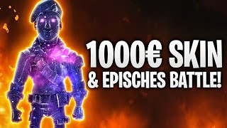 1000€ SKIN & EPISCHES 1 VS 1 BATTLE! 💥 | Fortnite: Battle Royale