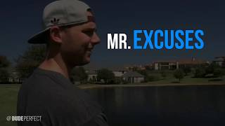 Dude Perfect : MR Excuses Compilation