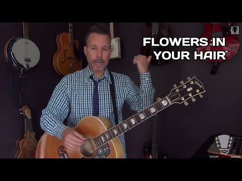 How to Play Flowers In Your Hair by The Lumineers - Guitar Lesson