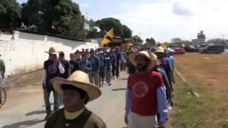 Grito de La Federación en Camunare Rojo I, La marcha, aporrea tvi, febrero 2013