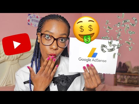 MY FIRST YOUTUBE PAYCHECK + HOW TO MAKE MONEY ON YOUTUBE 2019 | Nyemba
