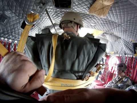 Airborne Jump, Chinook, 10th SFG, Jump 2
