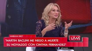 Yanina contó que le mostró sus lolas al novio de Cinthia Fernández