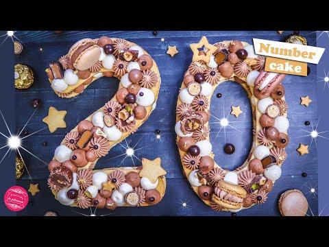 gateau-du-nouvel-an-2020-:-number-cake-3-chocolats