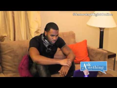 Download Jason Derulo Answers Fan Questions on SNOL w/ Romeo  - AskAnythingChat