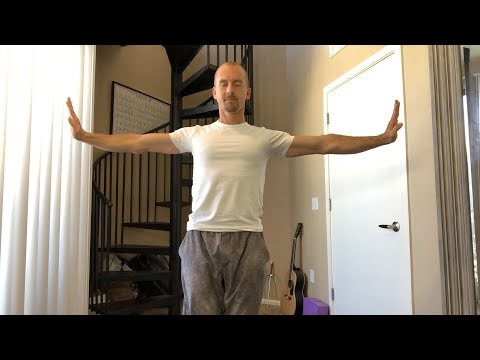Amazing Martial Arts Workout for At Home Fitness in 2018 | Qigong Flow 1 | Jake Mace 🕉☯️