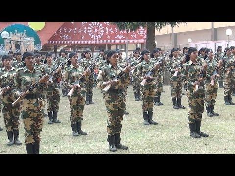 Indian Women Commandos : Parade : IITF 2013 : Pragati Maidan Trade Fair : New Delhi