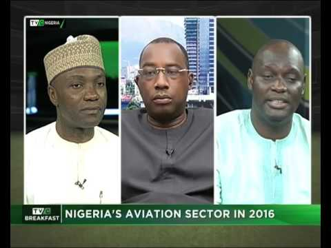 Nigeria aviation sector with Wole Shadare and Dung Rwung Pam, Kadla| TVC News
