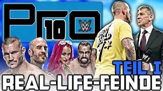 10 WWE Wrestler, die sich in echt hassen! (Teil 1/2) - Pro10 #50 (Deutsch/German)