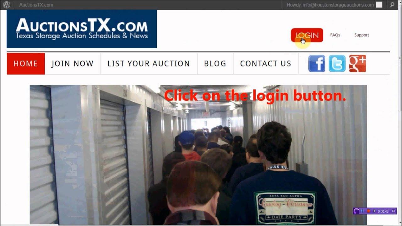 San Antonio Storage Auctions