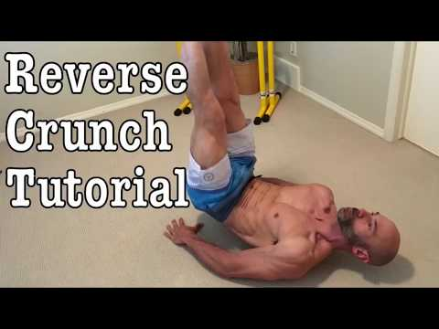 Reverse Crunch Tutorial. A great way to build your abs