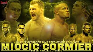 UFC 226 and TUF 27 Finale Predictions- Kamikaze Overdrive MMA