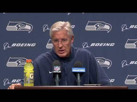 Seahawks Head Coach Pete Carroll Bye Week Press Conference