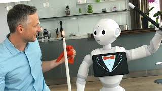 Will Robots replace Magicians? / Der Zauber-Roboter
