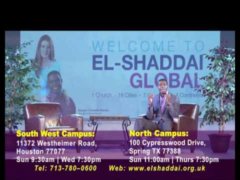 El-Shaddai Houston Service Times
