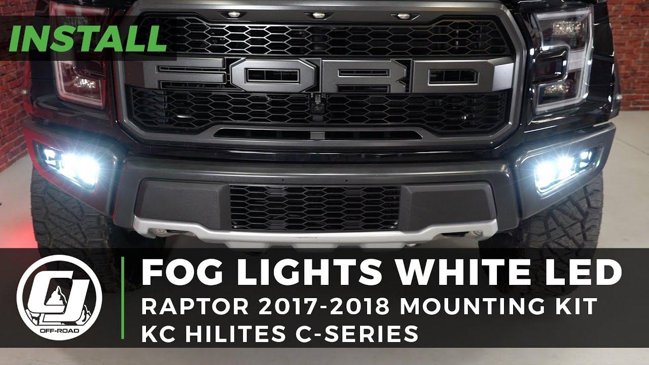 Fog Lights For 2019 Raptor: 2017-2019 F-150 Raptor Install: Fog Light Bezel & Mounting