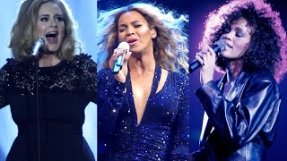 Adele vs. Beyonce vs. Whitney Houston Live VOCAL BATTLE (A4 - Eb5)