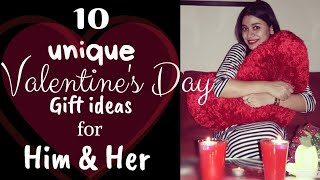 10 Unique Valentine's Day Gift Ideas For Him & Her | Valentine's Day Special | Surprise