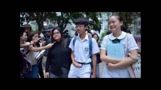 有關1/9/2016元朗信義本土關注組的報導,當中女同學的獨