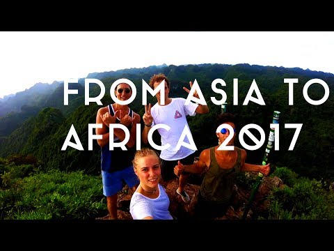 From Asia to Africa 2017 - China X Vietnam X Gabon