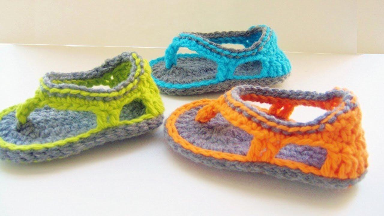 Quick And Easy Crochet Baby Booties