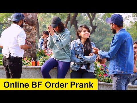 Online BF Order Prank | Bhasad News | Pranks In India