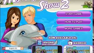 шоу дельфина!игра онлайн!
